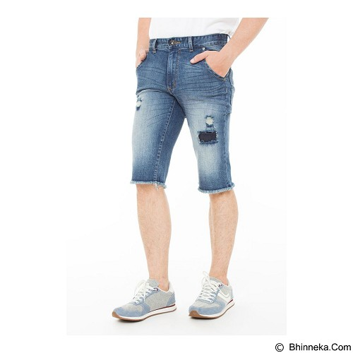 DOCDENIM Men Bronx Short Slim Fit Size 29 - Blue (Merchant) - Celana Pendek Pria