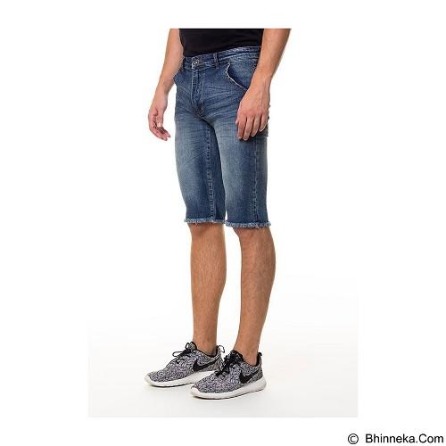 DOCDENIM Men Dayton Short Slim Fit Size 34 - Blue (Merchant) - Celana Pendek Pria