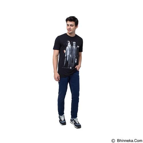 DOCDENIM Men Flatplat Slim Comfort Fit Size 34 - Blue (Merchant) - Celana Jeans Pria