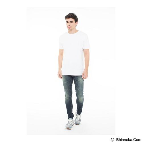 DOCDENIM Men Jeans Alcatraz Super Slim Fit Size 32 - Blue (Merchant) - Celana Jeans Pria