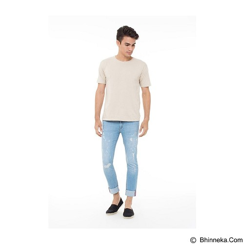 DOCDENIM Men Maximuzz RU Super Slim Fit Size 30 - Blue (Merchant) - Celana Jeans Pria
