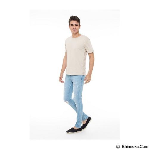 DOCDENIM Men Maximuzz Super Slim Fit Size 34 - Blue (Merchant) - Celana Jeans Pria