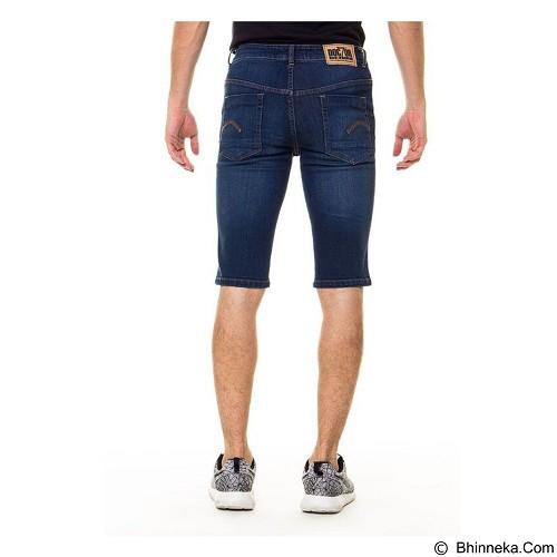 DOCDENIM Men Short Denim Kenzzei Slim Fit Size 30 - Blue (Merchant) - Celana Jeans Pria