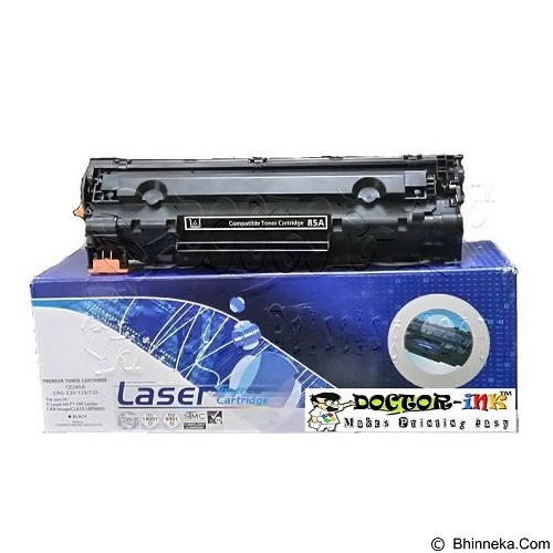 DOCTORINK Cartridge Laserjet Compatible HP P1005/P1006 (35A) (Merchant) - Toner Printer Refill