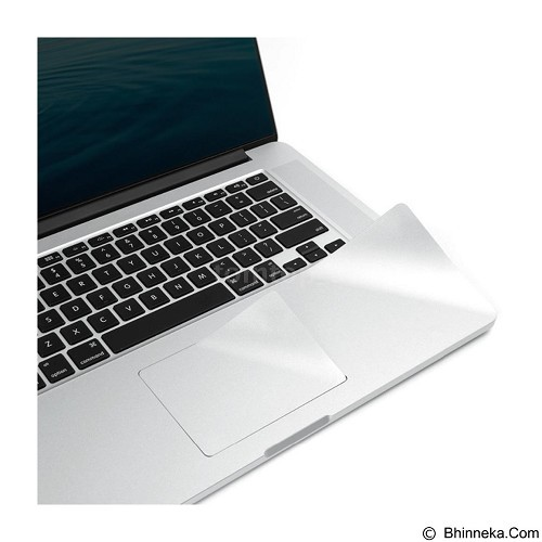DOND YOND 3 in 1 Ultra Thin Sticker for Apple Macbook Pro 13.3 Inch - Silver (Merchant) - Notebook Skin