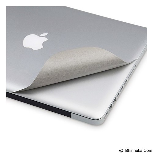 DOND YOND 3 in 1 Ultra Thin Sticker for Apple Macbook Pro Retina Display 15.6 Inch - Silver (Merchant) - Notebook Skin
