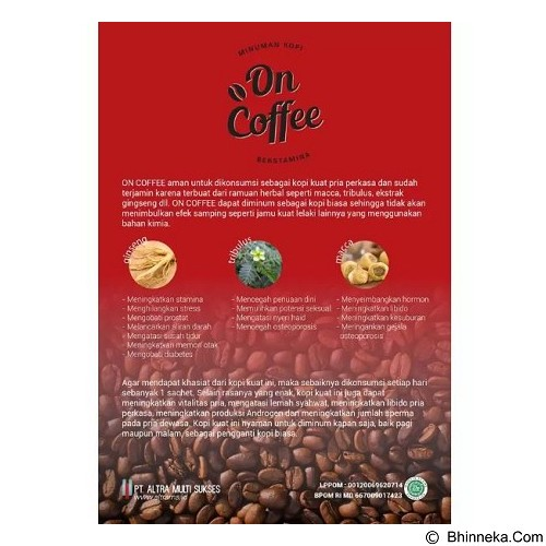 DR DENTAL On Coffee (Merchant) - Kopi Instan