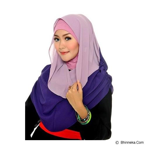 DSTYLEHIJAB 2 Tone Shoodie - Light Purple Dark Purple - Hijab