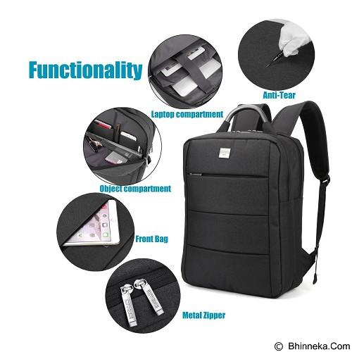 DTBG Laptop Bag 15.6 Inch [D8173W] - Black (Merchant) - Notebook Backpack