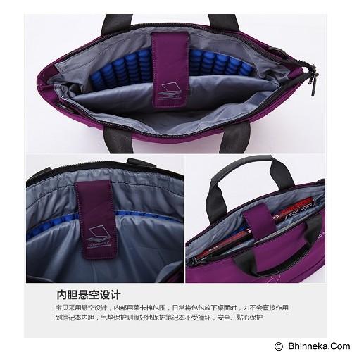 DTBG Shoulder Handbag Laptop 13.3 Inch [D8197W] - Purple (Merchant) - Notebook Shoulder / Sling Bag