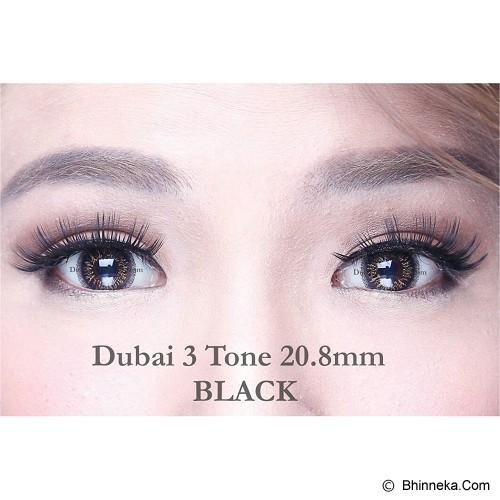 DUBAI 3 Tone Contact Lens 20.8mm - Black - Perawatan Mata