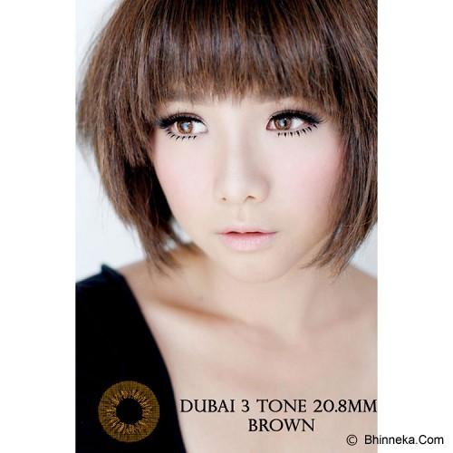 DUBAI 3 Tone Contact Lens 20.8mm - Brown - Perawatan Mata
