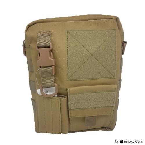 DUCITLET SHOP Tas Slempang Army / Sling Bag Tactical Polos - Brown - Sling-Bag Pria