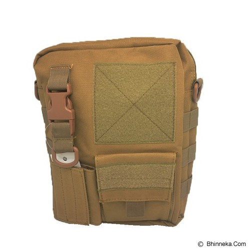 DUCITLET SHOP Tas Slempang Army / Sling Bag Tactical Polos - Brown - Sling-Bag Pria