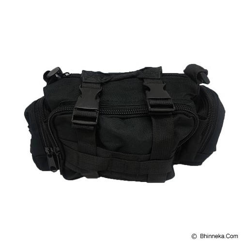DUCITLET SHOP Tas Tactical [023] - Black - Sling-Bag Pria