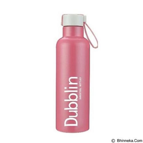 Dubblin Termos Boom Stainless Steel 600 ml - Pink - Botol Minum