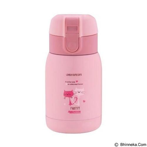 Dubblin Termos Selfie Stainless Steel 200 ml - Pink (Merchant) - Botol Minum