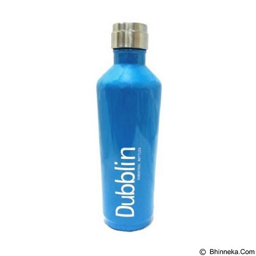 Dubblin Termos Spring Stainless Steel 600 ml - Blue (Merchant) - Botol Minum