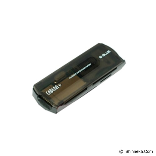 E-BLUE All In 1 Card Reader Cadena - Black - Memory Card Reader External