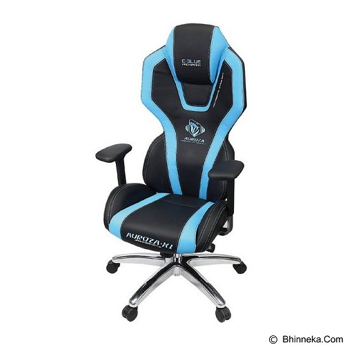 E-BLUE Auroza Gaming Chair - Blue (Merchant) - Kursi Kantor