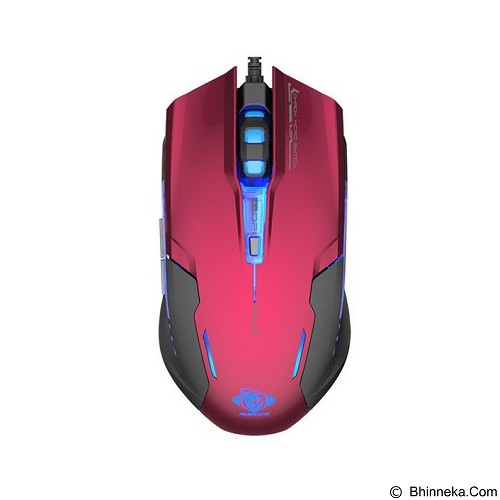 E-BLUE Auroza Type-G Pro Gaming Mouse - Red (Merchant) - Gaming Mouse