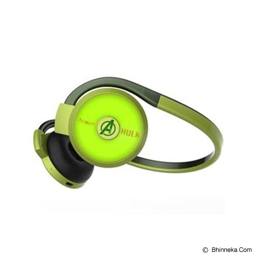 E-BLUE Avengers Series Bluetooth Headset Stereo Hulk (Merchant) - Headset Bluetooth