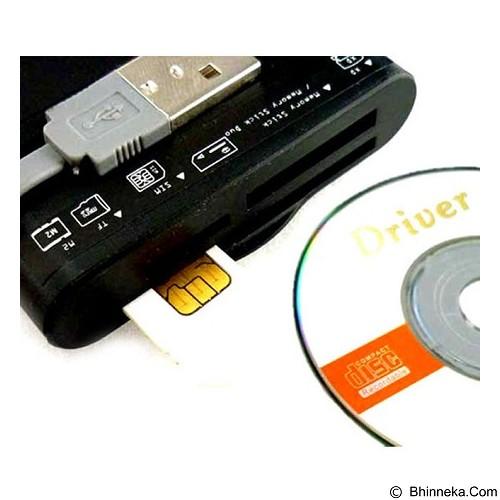 E-BLUE Circulo Sim + Card Reader - Black (Merchant) - Memory Card Reader External
