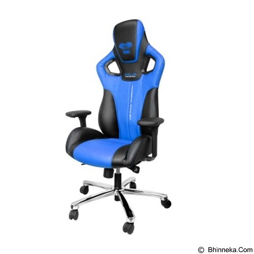 E-BLUE Cobra Gaming Chair - Blue (Merchant) - Gaming Organizer