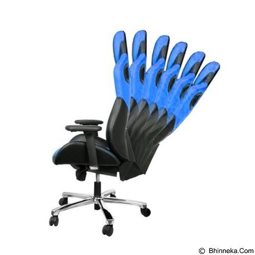 E-BLUE Cobra Gaming Chair - Blue (Merchant) - Gaming Organizer