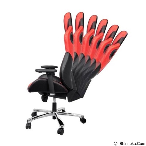 E-BLUE Cobra Gaming Chair - Red (Merchant) - Gaming Organizer