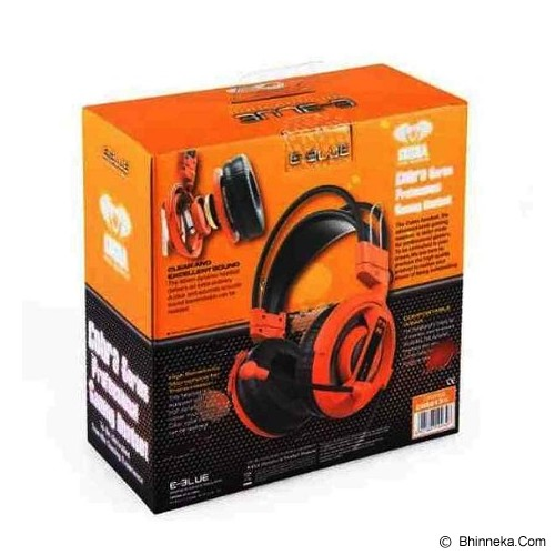 E-BLUE Cobra Gaming Headset - Orange (Merchant) - Gaming Headset