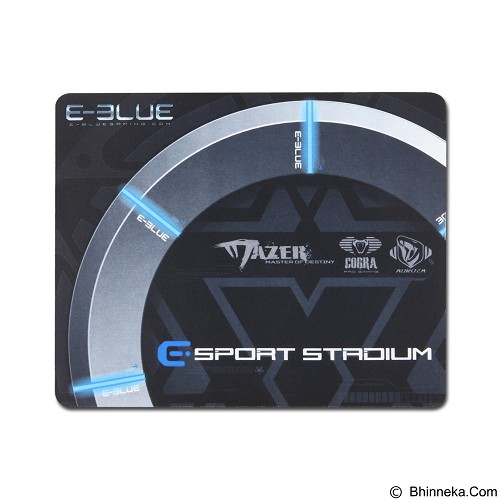 E-BLUE Gaming Mouse Pad Value Pack (Merchant) - Mousepad Gaming