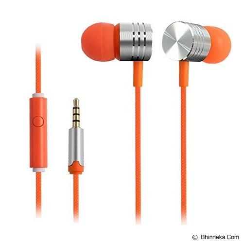 EARFUN Earphone Fashionable Colorful [EF-E4] - Orange - Earphone Ear Monitor / Iem