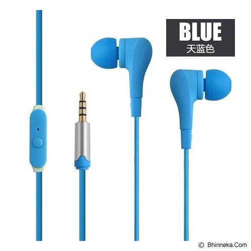 EARFUN Earphone Fashionable Colorful [EF-E8] - Blue - Earphone Ear Monitor / Iem