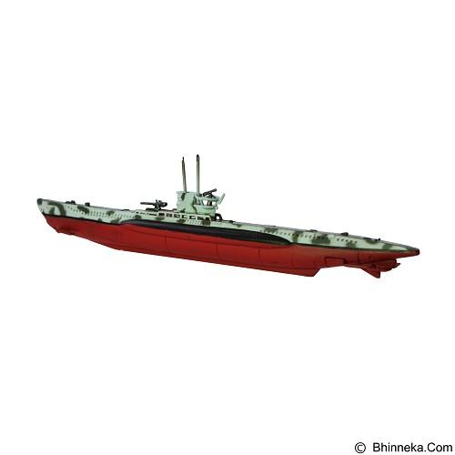 EASY MODEL Miniatur Kapal Selam Tempur German DKM U Boat Type VIIB (Merchant) - Die Cast