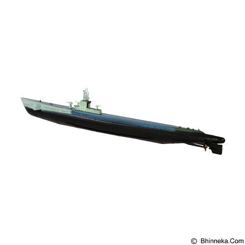 EASY MODEL Miniatur Kapal Selam Tempur USS Gato Class SS 212 (Merchant) - Die Cast
