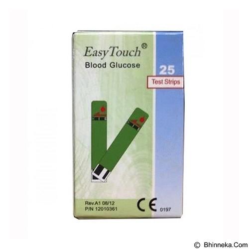 EASY TOUCH Test Strips Blood Glucose (Merchant) - Alat Ukur Kadar Gula