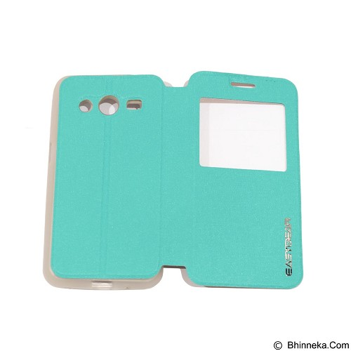 EASYBEAR Flipcover Case View for Samsung Galaxy Core 2 G355 - Green (Merchant) - Casing Handphone / Case