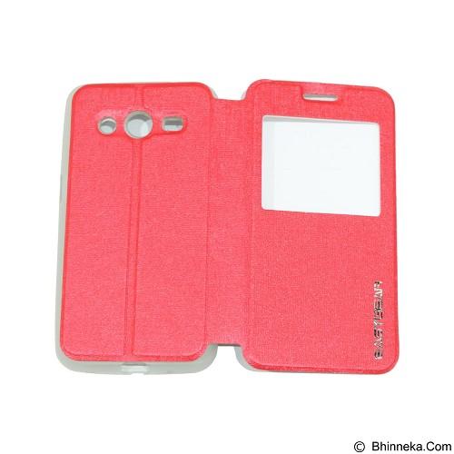 EASYBEAR Flipcover Case View for Samsung Galaxy Core 2 G355 - Red (Merchant) - Casing Handphone / Case