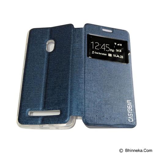 EASYBEAR Flipcover/Flipshell/Casing for Asus Zenfone 5 A500CG View - Dark Blue (Merchant) - Casing Handphone / Case
