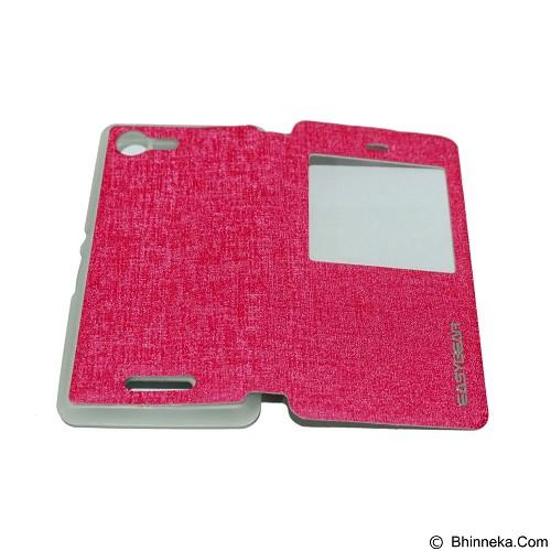 EASYBEAR Flipcover/Flipshell/Casing for Samsung Galaxy E300/E3 View - Pink (Merchant) - Casing Handphone / Case