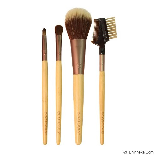 ECOTOOLS Touch Up Set - Kuas Make-Up