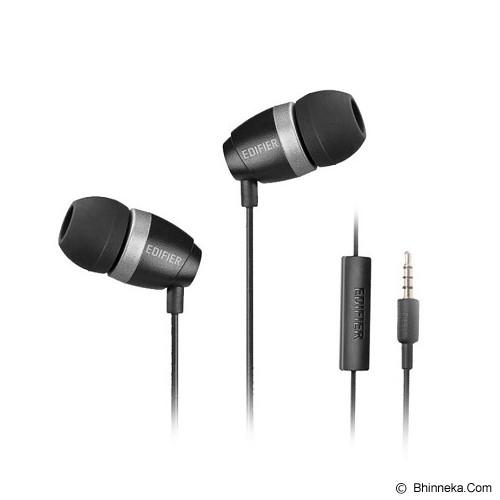 EDIFIER Earphone [H210P] - Black - Earphone Ear Bud