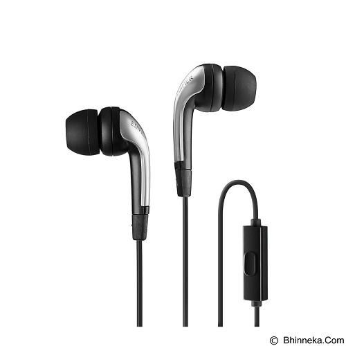 EDIFIER Earphone [P220] - Black - Earphone Ear Monitor / Iem