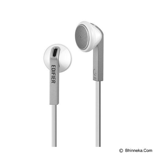 EDIFIER Edifier Earphone H190  [EAR-EDI-H190-WT] - Sleek White - Earphone Ear Bud