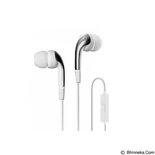 EDIFIER Handsfree H220P - White (Merchant) - Earphone Ear Monitor / Iem