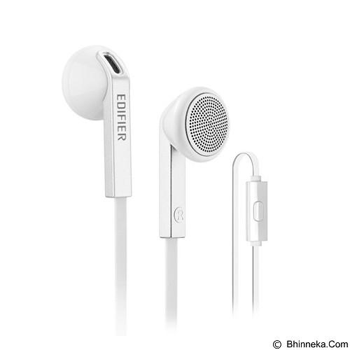 EDIFIER Edifier Handsfree P190 [EAR-EDI-P190-WT] - White (Merchant) - Earphone Ear Bud