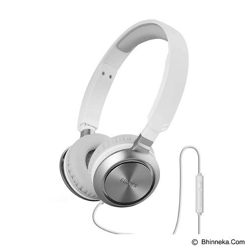 EDIFIER Headphone M710 with Mic & Volume Control [EDI-HEAD-M710-WT] - White (Merchant) - Headphone Portable