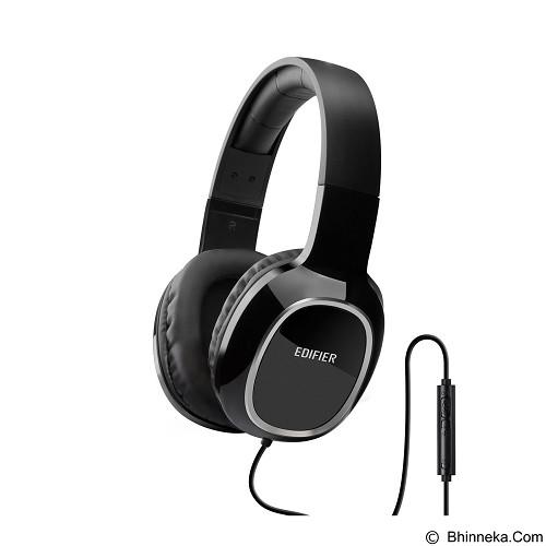 EDIFIER Headphone M815 with Mic & Volume Control [EDI-HEAD-M815-BK] - Black (Merchant) - Headphone Portable