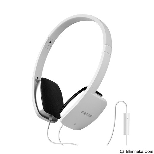 harga EDIFIER Headphone [P640] - White Bhinneka.Com